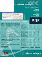 Analogon - Brochura GCA