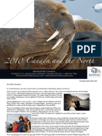 2010 Canada and the North - Adventure Canada