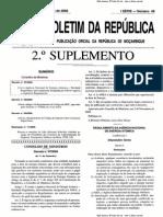 Decreto que cria a Agencia Nacional de Energia Atómica