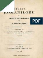 PAPIU ILARIAN Istoria Româniloru