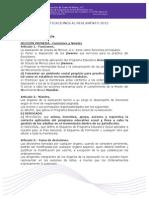 Modificaciones Al Reglamento Enero 2014