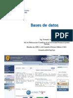 8 Base de Datos en publicaciones cientificas