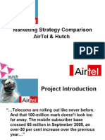 Airtel vs Hutch Marketing Strategies