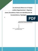 Argentina - Acoso Moral en el Trabajo - Identificación