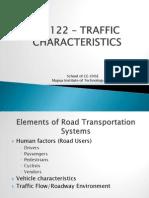 04 CE 122 Traffic Characteristics