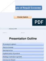 Current State of Nepali Economy 2014