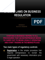 Special Laws on Business Organization