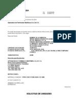 Carta de Instrucciones VAM-WYN de MEXICO