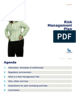 2008 04 24 Malmo Helge Risk Management