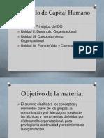 Unidad I. Desarrollo Organizacional