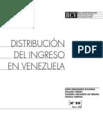 Distribución del ingreso en Venezuela