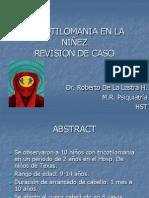 TRICOTILOMANIA EN LA NIÑEZ.pptx