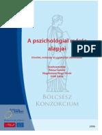 A pszichológiai mérés alapjai. Elmélet, módszer és gyakorlati alka