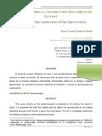 PSM Reflexiones Sobre La Construccion Del Objeto de Estudio