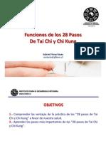"""Ventajas médicas de los """"28 Pasos de Tai Chi y Chi Kung"""" (Presentación)"""