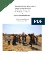 SRRA Report July - December 2013