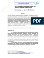 Modelo de Mapeamento de Escolas Profissionalizantes Inclusivas