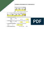 Calculos de Materiales Sostenimiento Tunel