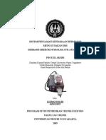Laporan Tugas Akhir Sistem Pengaman Kendaraan Bermotor Menggunakan Sms Berbasis Mikrokontroler Avr Atmega8535 Lukman