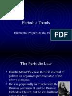 periodic trends chemistry