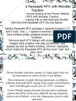 Power Wheels Kawasaki KFX With Monster Traction PDF