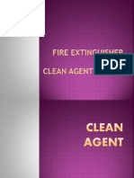 Fire Extinguisher and Clean Agent