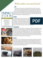 Dakota Sisu Farm letter, January 2014
