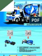 Cement Mixture Truck