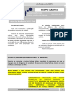 Resultado GEDPU Subjetiva - Rodada 2013.243(Ata)