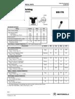 BS170 Transistor data sheet