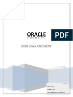 Oracle Risk Management Submission
