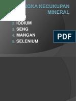 Selenium,Zink,Fe(Hapsoro)