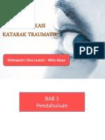 MTE Komplikasi Katarak Traumatika