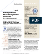 Recurrent Apthous Stomatitis.pdf