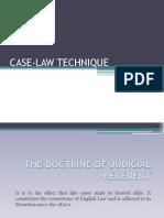 Case Law Technique
