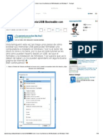 Cómo Crear Una Memoria USB Booteable con Windows 7 - Taringa!