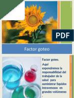 Factor Goteo