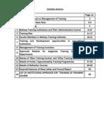 Ir Training Manual