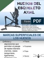 Anatomia Ppt Huesos Del Esqueleto Axial