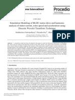 Procedia Technology Volume 4 Issue None 2012 [Doi 10.1016%2Fj.protcy.2012.05.107] Madhurima Chattopadhyay; Priyanka Roy; Sharmi Dutta -- Simulation Modeling of BLDC Motor Drive and Harmonic Analysis of Stator Current,