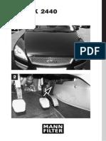 Schimbare Filtru Polen Ford Focus 2