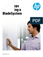HP Blade Build