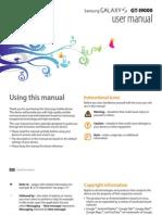 Samsung Galaxy S (GT-I9000) User Manual