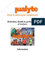 Aqualyte - General Information 2013