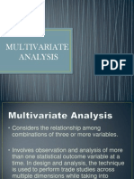 Multi Variate Analysis