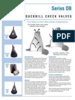 B Duckbill Check Valves