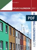 Focus on London 2011 Housing