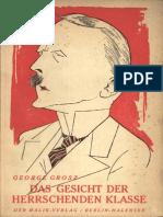 Das Gesicht 1921