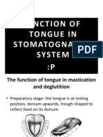 The Function of Tongue