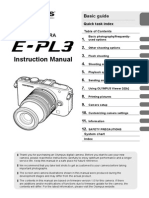 E-PL3 Instruction Manual En